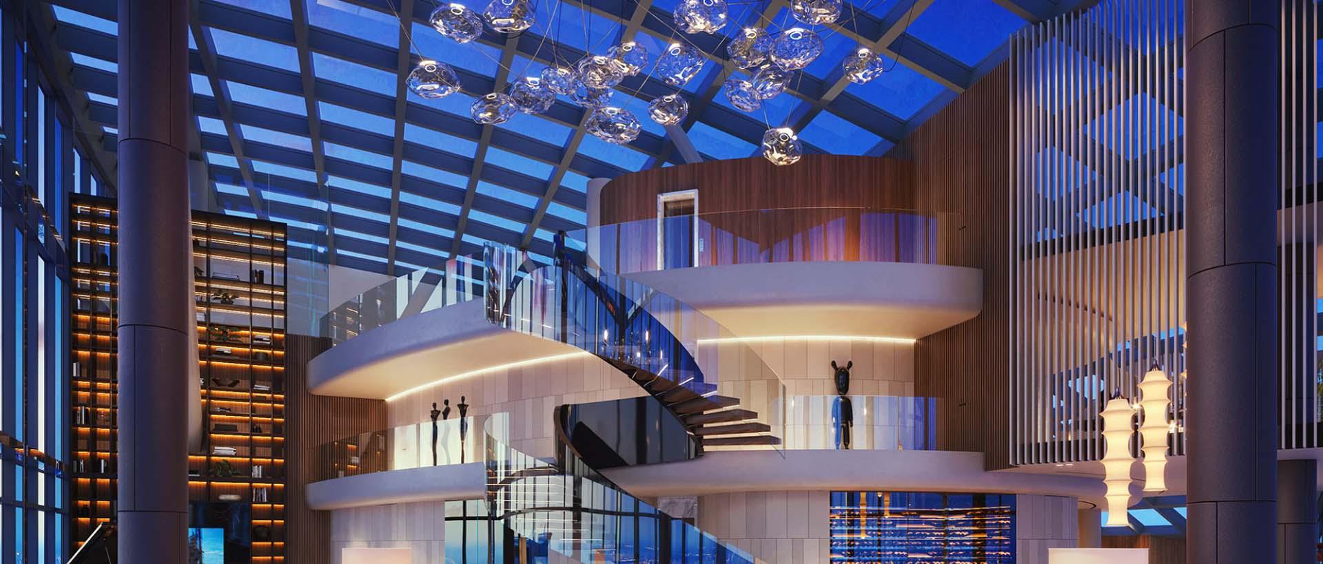 Апартаменты 95 этаж москва сити зоопарк дубай молл