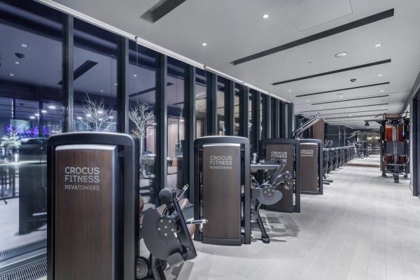 Crocus fitness Neva Towers